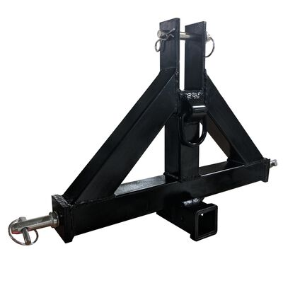 """Heavy Duty Category 1 3-Point 2"""" Receiver Hitch 