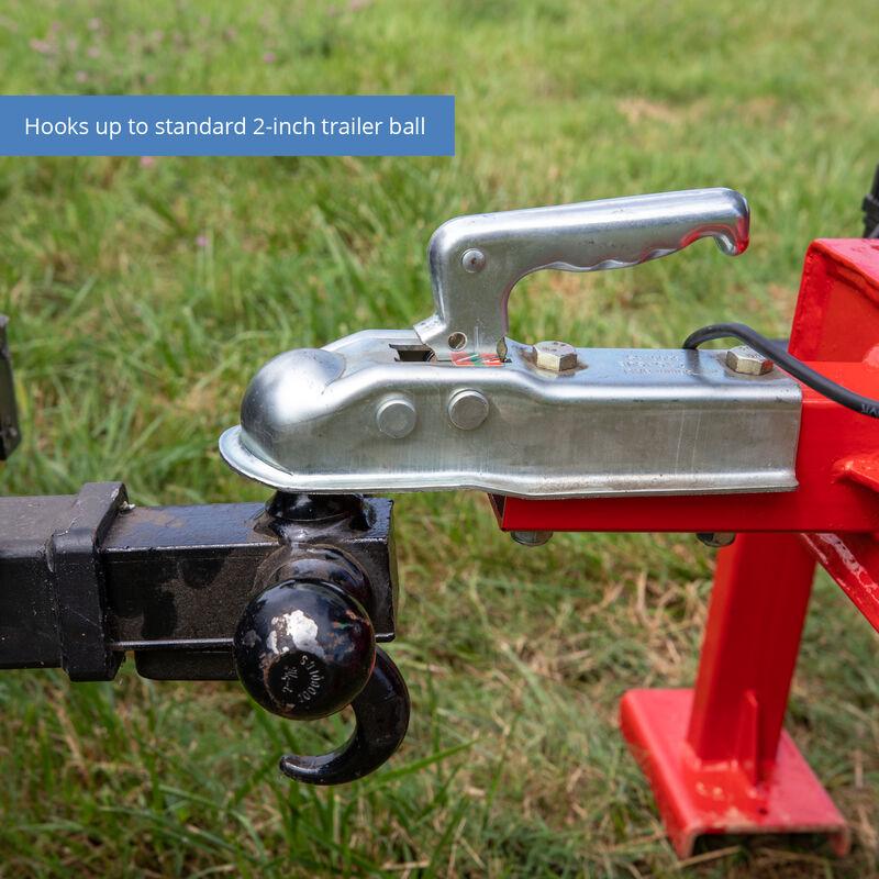 Towable Backhoe W/ 12-in Bucket