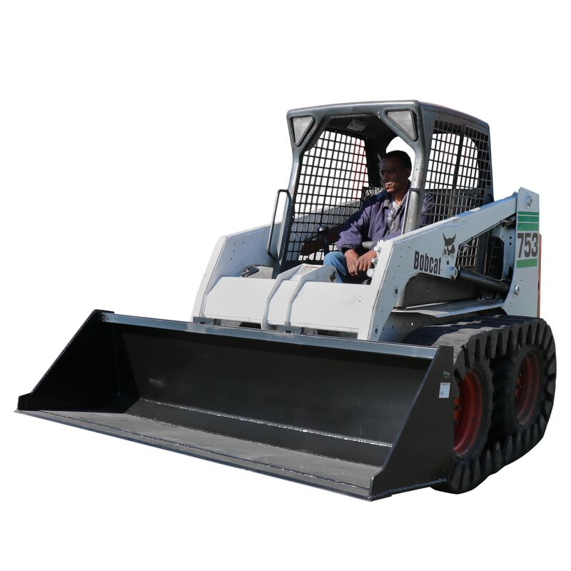 """78"""" Skid Steer Bucket Attachment 3/16"""" Thick 