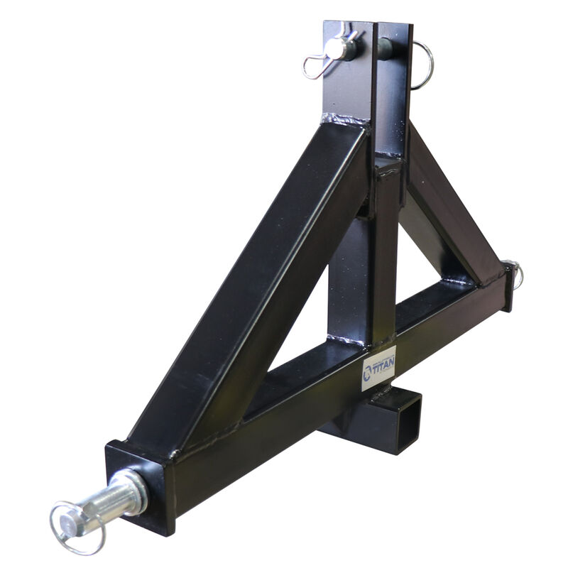 """Heavy Duty Category 2 3-Point 2"""" Receiver Hitch 
