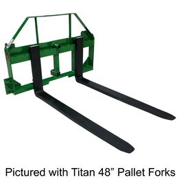 """UA Made in the USA 48"""" Fork Frame w/ Receiver, Spear Sleeves, and Headache Rack"""