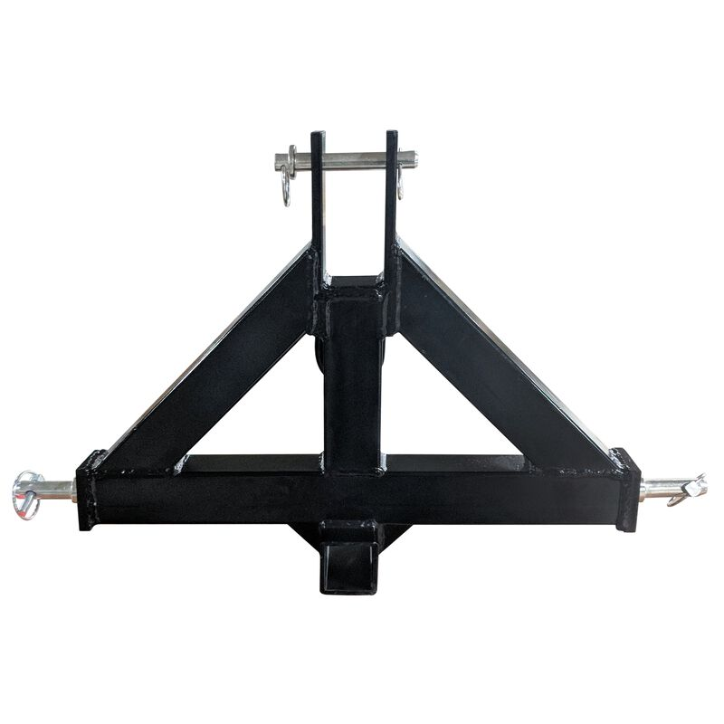 Heavy-Duty 2-in Receiver Hitch, Category 1, 3-Point – Quick Hitch Compatible