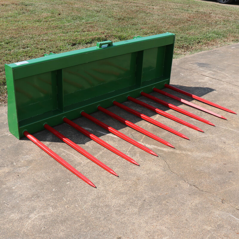 72-in Tine Bucket With Hay Spears Fits John Deere