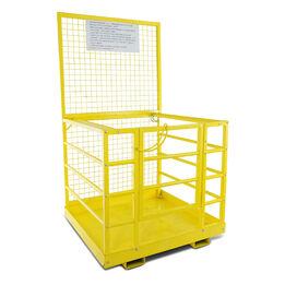 """HD Forklift Platform Safety Cage 45"""" x 43"""""""