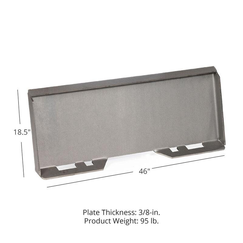 """3/8"""" Attachment Mount Plate For Skid Steer Bobcat Kubota"""