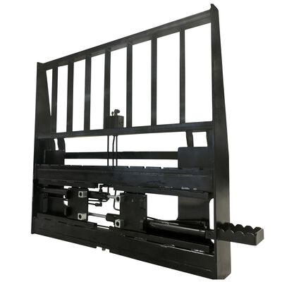 Adjustable Hydraulic Skid Steer Pallet Fork Frame