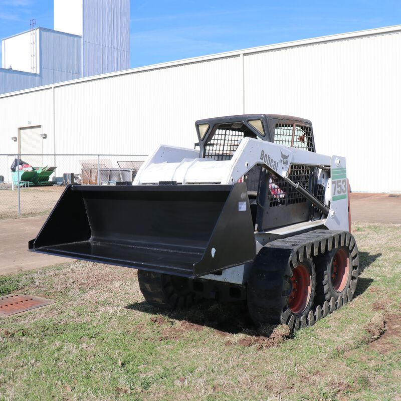 "72"" Skid Steer Bucket Attachment 1/8"" Thick 