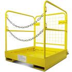 """2 Person Pallet Forklift Platform Safety Cage 36""""x36"""""""