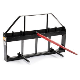 Pallet Fork Frame Attachment, Hay Spears and Stabilizers
