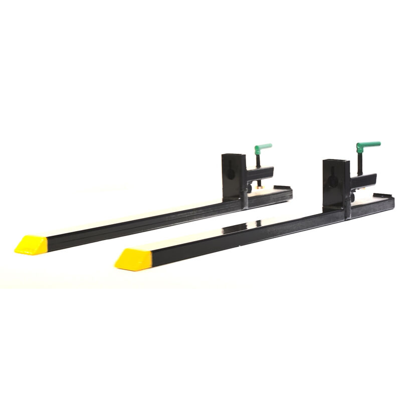 4000-Pound Capacity Clamp-on Pallet Forks for Tractor/Loader, Skid Steer Bucket