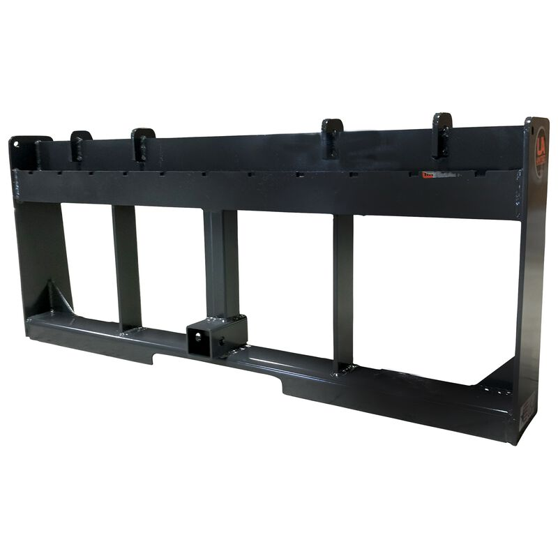 """UA Made in the USA 60"""" Pallet Fork & Trailer Hitch Skid Steer Attachment"""