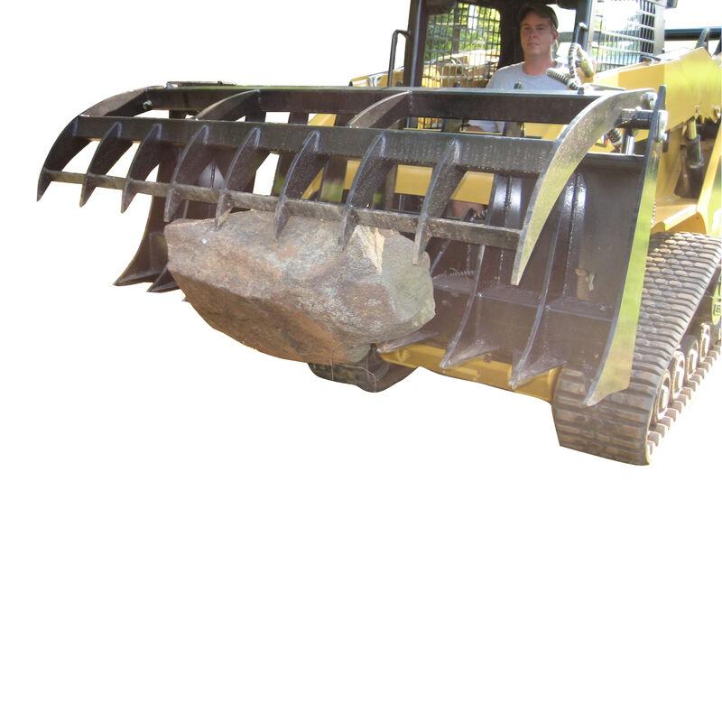 "60"" Root Grapple Rake Attachment for Skid Steer V2"