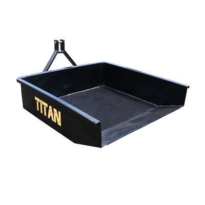 Category 1 3-Pt. Hitch Hydraulic Dump Box 10 Cu. Ft. | Quick Hitch Compatible