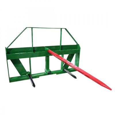 "UA Global 49"" Hay Frame with Stabilizer Spears and Rack with Hitch 