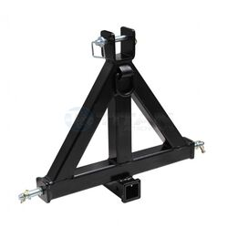 """SCRATCH AND DENT - Heavy Duty Category 1 3-Point 2"""" Receiver Hitch - FINAL SALE"""