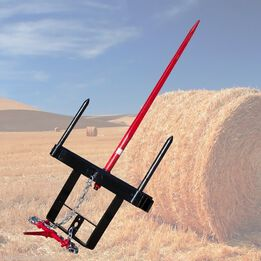 SCRATCH AND DENT - Titan Hay Spear Universal Bucket Attachment - FRAME ONLY - FINAL SALE