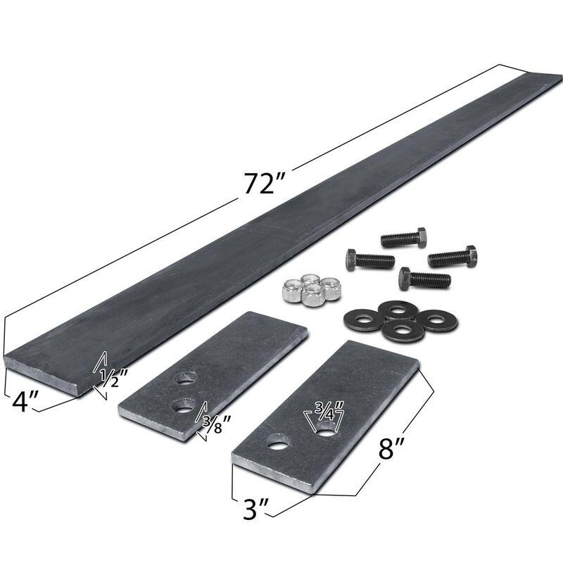 """72"""" Custom Skid Steer Tooth Bar Kit"""
