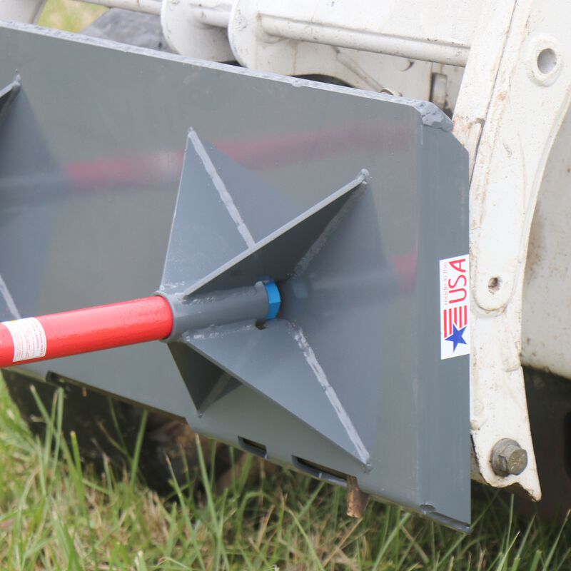 "UA Made in the USA | Dual Hay Bale Spear Mount Plate | 39"" Spears"