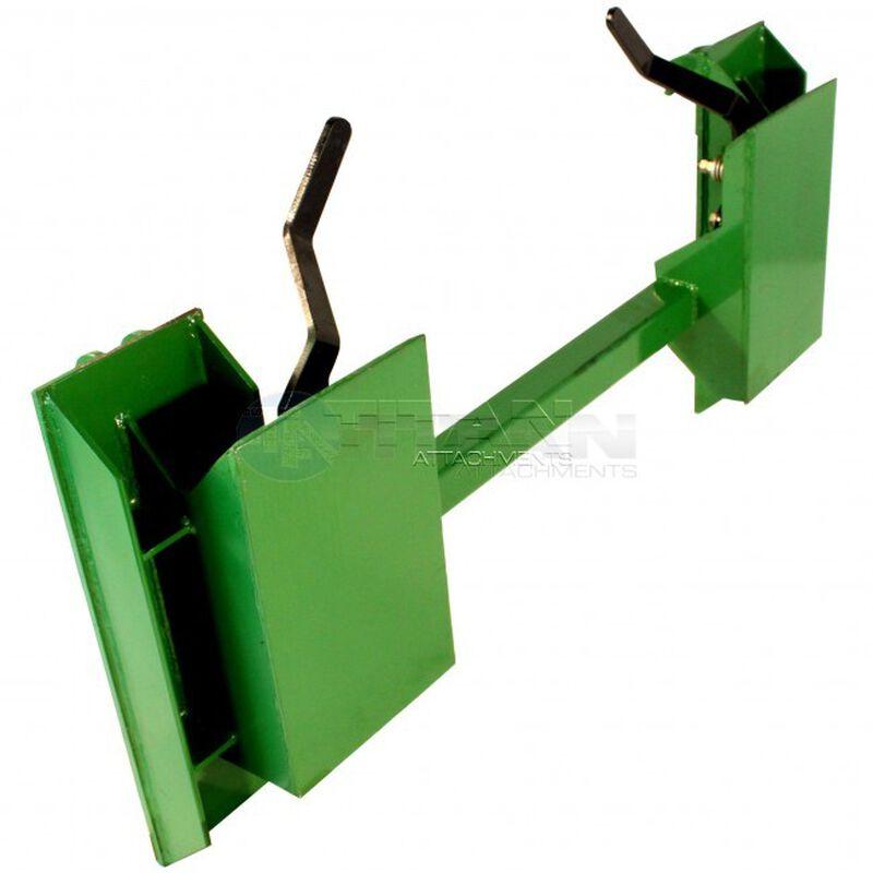 Quick Tach Adapter|Fits John Deere To Convert Skid Steer