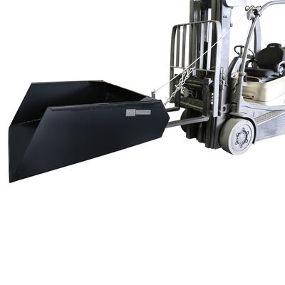 Forklift Mounted Front Loader Dump Bucket