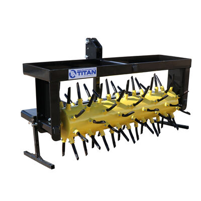 "50"" 3-Point Drum Plug Aerator With 68 Coring Plugs | Cat 1 & 2"
