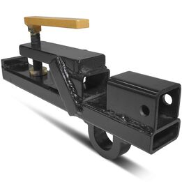 Clamp On Tractor Bucket Hitch w/ Lift Ring