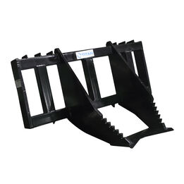 HD Tree Grubber For Skid Steer Quick Tach