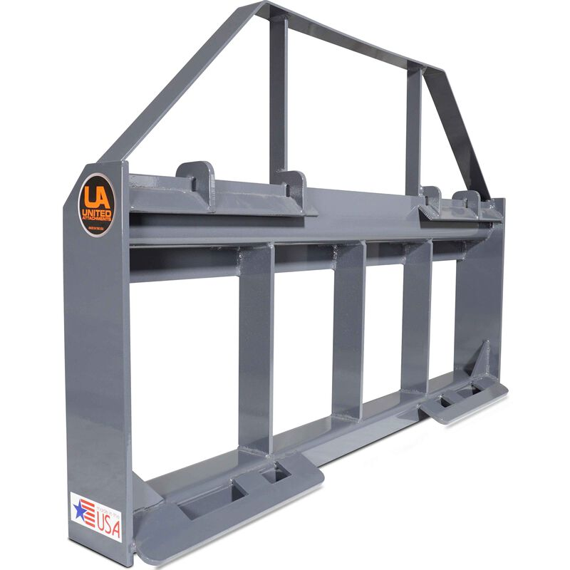 UA Made in the USA Skid Steer Pallet Fork Frame