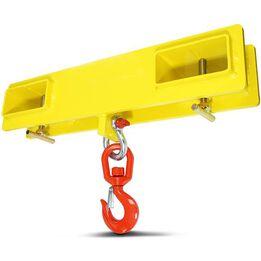 Forklift Lifting Hoist Swivel Hook Mobile Crane 4000 lb. capacity lift