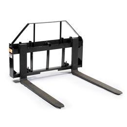 Pallet Fork Frame Attachment with Pallet Fork Blades