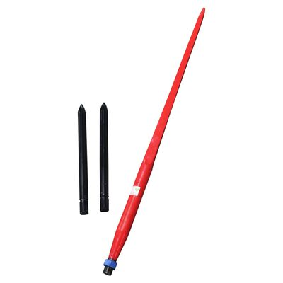 """49"""" Hay Spear with 17"""" Stabilizer Spears"""