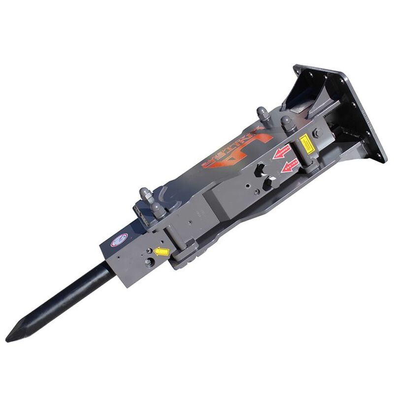 UA-750 Hydraulic Breaker w/  Skid Steer & Excavator Combo Mount Plate