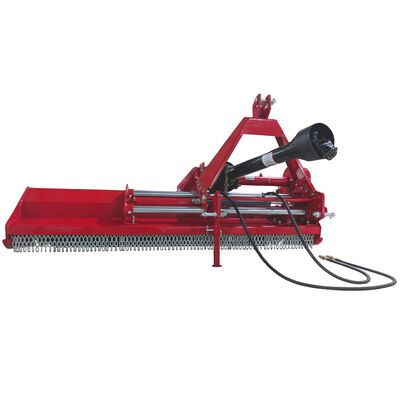 "60"" 3-Point Flail Mower with Hydraulic Side Shift"