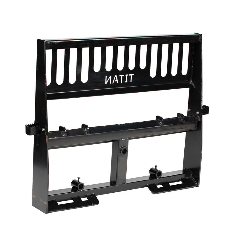 Pro-Duty Pallet Fork Attachment, 49-in Hay Spear and Stabilizers