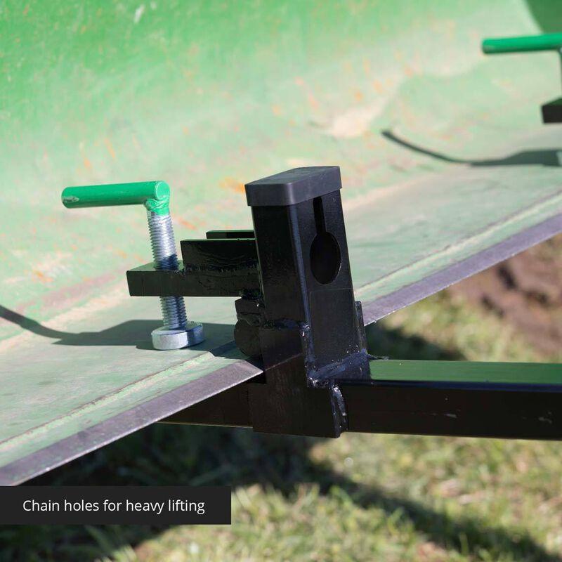 Light-Duty Clamp-On Pallet Forks 1,500 LB Capacity