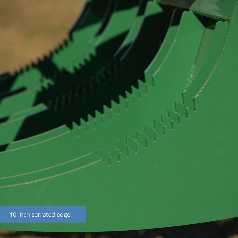"60"" HD Root Grapple Rake Attachment fits John Deere Loaders"