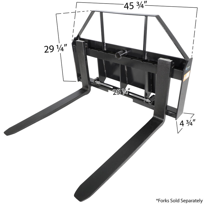 "48"" Toro Pallet Fork Attachment"