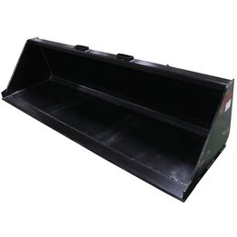 """84"""" Skid Steer Bucket Attachment 1/8"""" Thick   V2"""