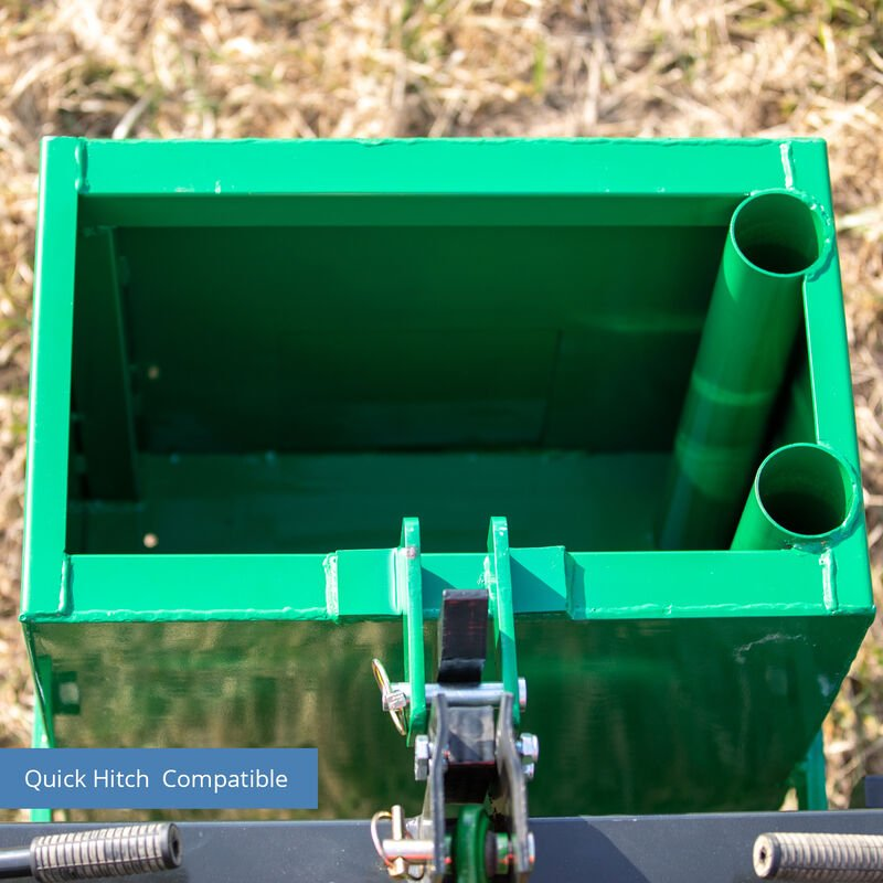 Category 1, 3 Point Ballast Box Fits John Deere – Quick Hitch Compatible