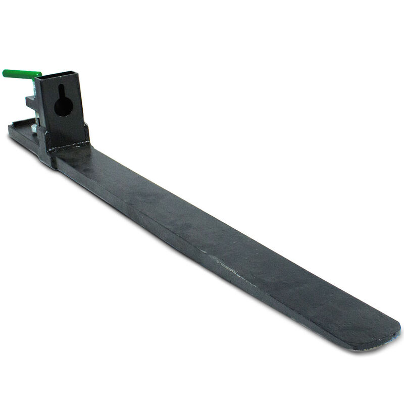 """SCRATCH AND DENT - Single 47"""" Forged Clamp on Pallet Fork 6,000 lb Capacity Tractor Bucket - FINAL SALE"""
