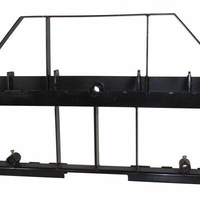 Skid Steer Pallet Fork Frame Attachment