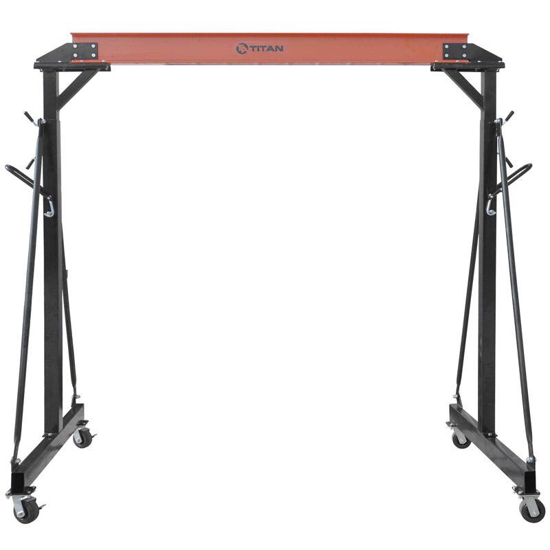 2 Ton Adjustable Steel Gantry Crane Shop Lift