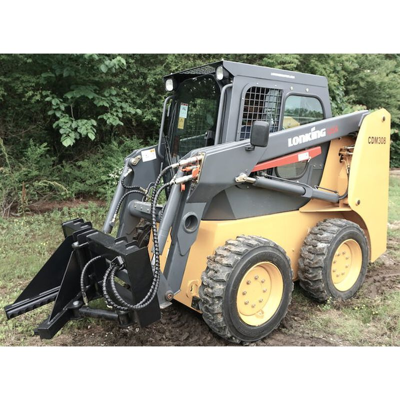 Heavy-Duty Post And Tree Puller For Skid Steers, Universal Landscape Tool