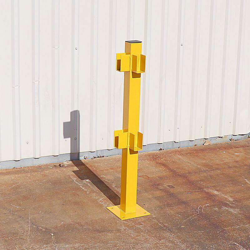 Corner-Post for Modular Rail Guard System