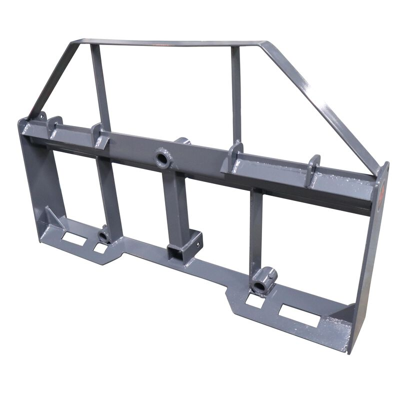 """UA 42"""" Pallet Fork Frame Attachment with Headache Rack and Hitch 