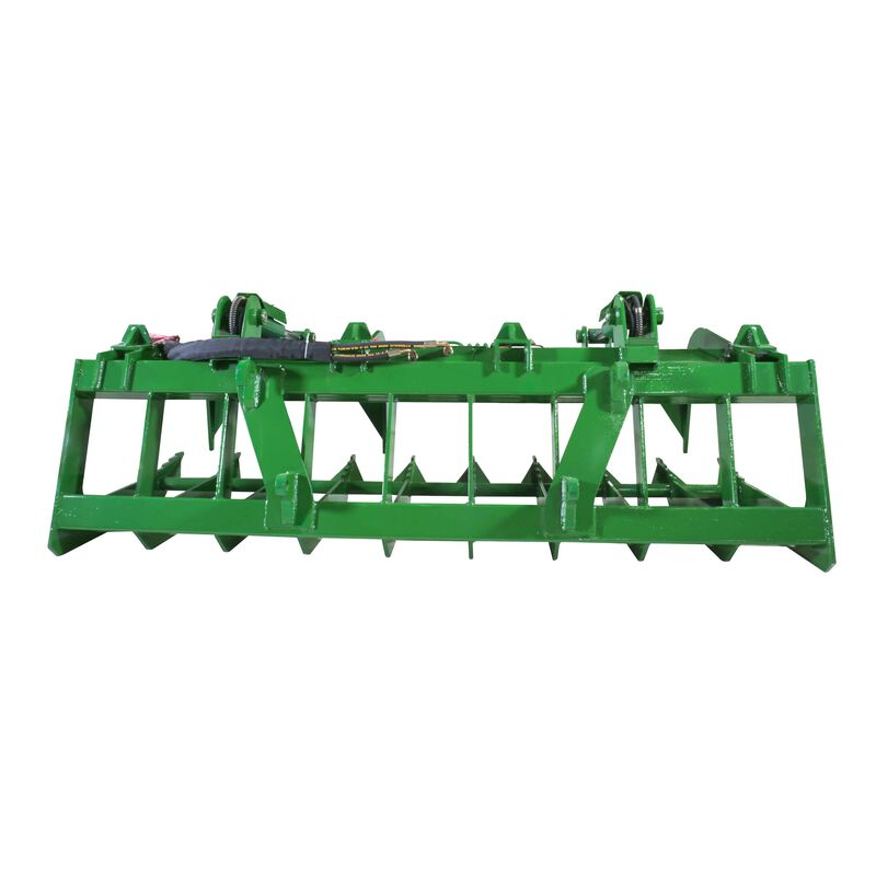 "84"" Root Grapple Bucket Attachment Fits Global Euro John Deere Loaders"