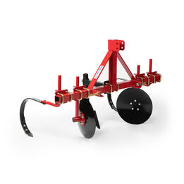 60-in Adjustable Disc Bedder For Cat 1, 3-Point Quick Hitch Compatible