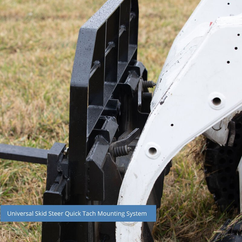 Titan 60-in XL Pallet Fork Frame Attachment, 5,500 LB Capacity – Quick Tach Tractor