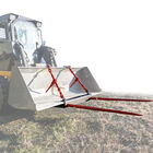 "39"" Hay Bale Spear Universal Bucket Attachment w/ Dual Prongs"