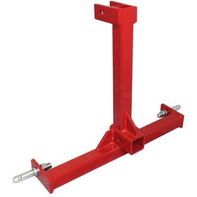 3 Point Tractor Drawbar Trailer Hitch Receiver Attachment Category 1